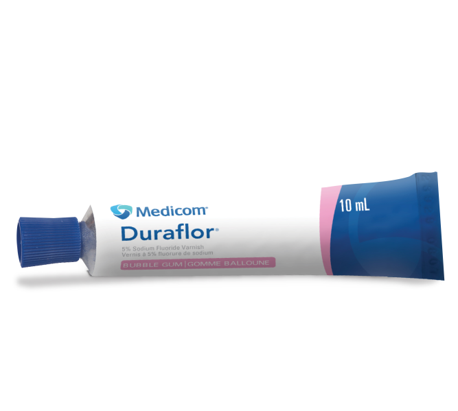 Duraflor Bubble Gum (5 Percent Sodium Fluoride Varnish)