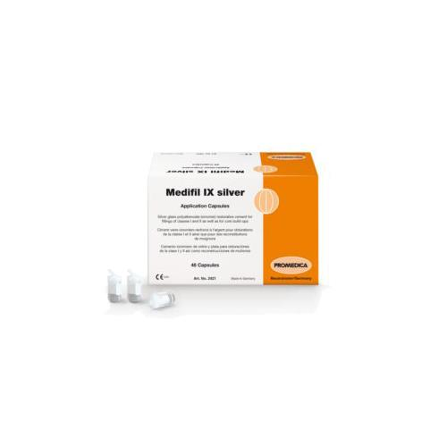Medifil IX Silver (Silver Reinforced Glass Ionomer Cement)
