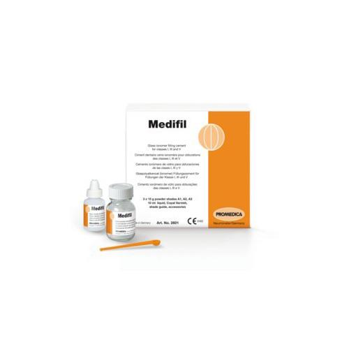 Medifil, Shade A3 (Glass Ionomer Cement for Filling of Classes I, III and IV)