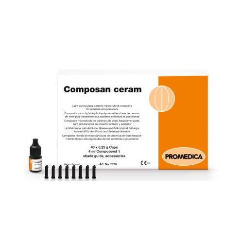 Composan ceram Capsules, Shade A2 (Glass Ceramic Micro Hybrid Composite)