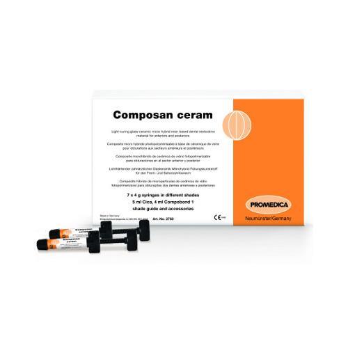 Composan ceram Syringes, Shade A2 (Glass Ceramic Micro Hybrid Composite)