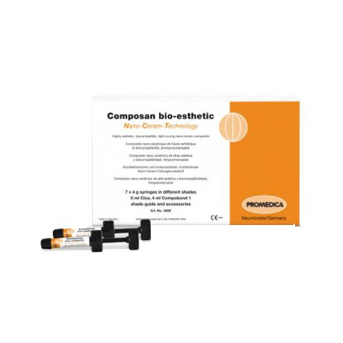 Composan bio esthetic, Shade A3 (Light Curing Nano Ceram Composite)