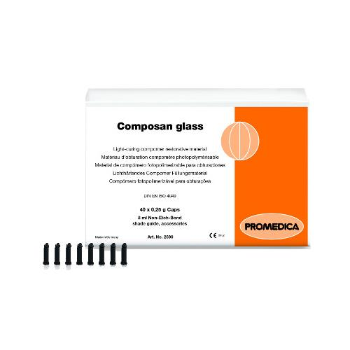 Composan glass Capsules, Shade A2 (Light Curing Compomer Filling Material)