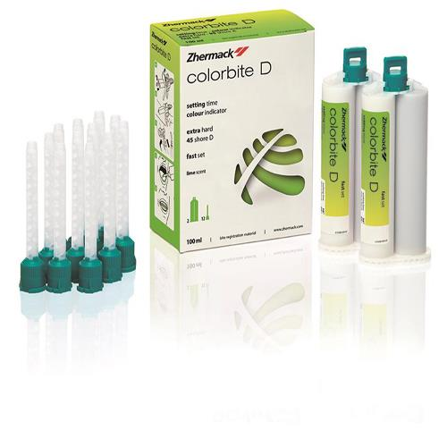 Colorbite D (A Silicone for Bite Registration)