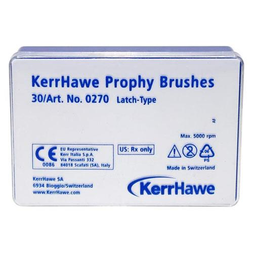 Hawe Prophy Brushes (Latch Type Brushes,  Normal Shape)