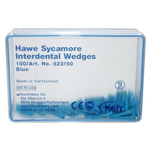 Hawe Sycamore Interdental Wedges (Blue), Shape 50