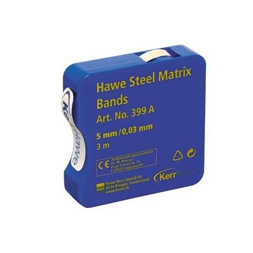 Hawe Steel Matrices Bands (0, 030mm in Thickness and 5mm Width)