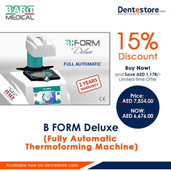 B FORM Deluxe (Fully Automatic Thermoforming Machine)