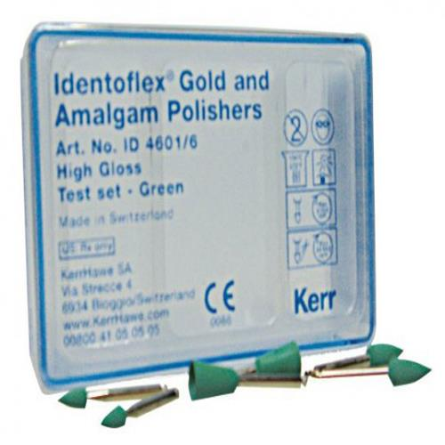 Identoflex Gold,  Amalgam and Precious Metal Alloys (High gloss Polisher Testset),  Assorted Kits