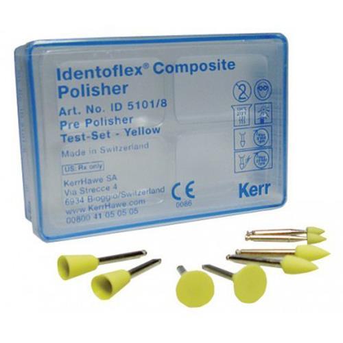 Identoflex Composite Polishers (Prepolishers Yellow,  Large Cup)