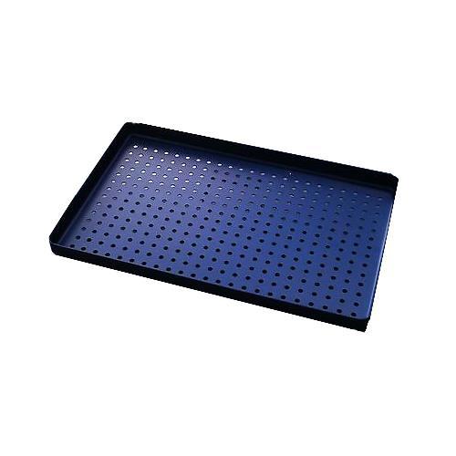 Aluminium Perforated Instrument Tray (Blue)
