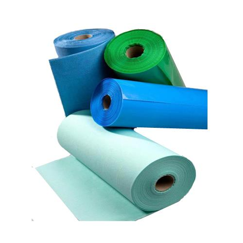 Aprons in Rolls   Protective Disposable Bibs in roll (Light Blue)