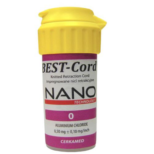 Best Cord NANO   Size 0 (Polyester Polyamide Retraction Cord Impregnated with Aluminium Chloride)