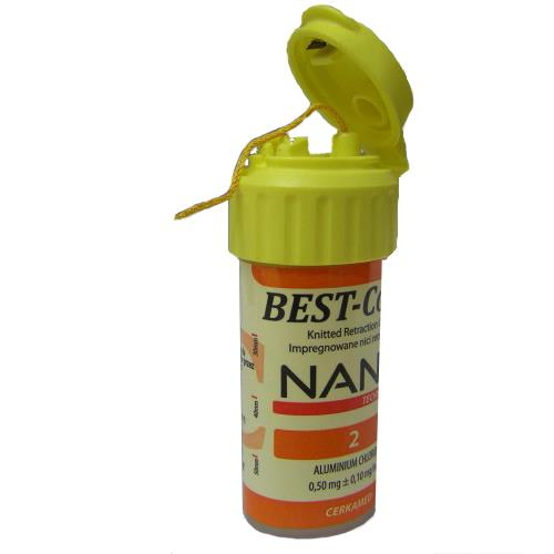 Best Cord NANO   Size 2 (Polyester Polyamide Retraction Cord Impregnated with Aluminium Chloride)