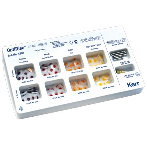 OptiDisc (Translucent Polishing Disc),  General Assorted Kit (9.6mm and 12.6mm Length)