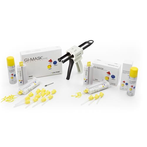 GI-MASK AUTOMIX New Formula Starter Kit (Silicone-Based Gingiva Reproduction Material)