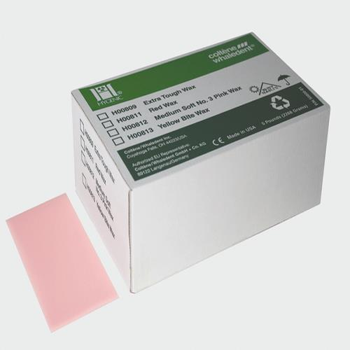 Hygenic Medium-Soft No. 3 Pink Wax (Soft Modeling)