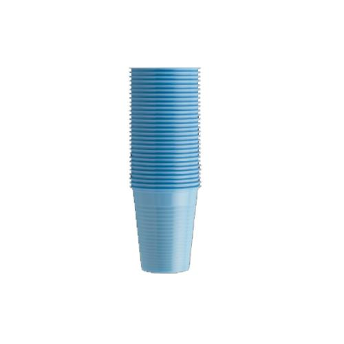 Monoart Plastic Cups (Light Blue)