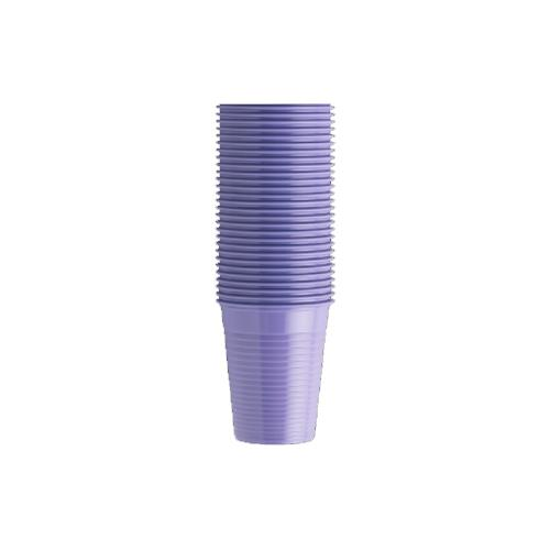 Monoart Plastic Cups (Lilac)