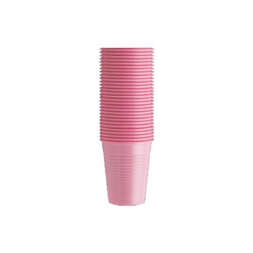 Monoart Plastic Cups (Pink)