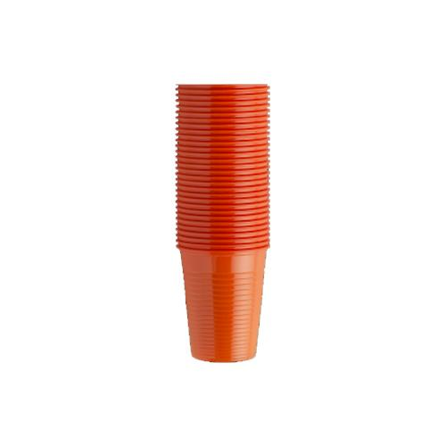Monoart Plastic Cups (Orange)