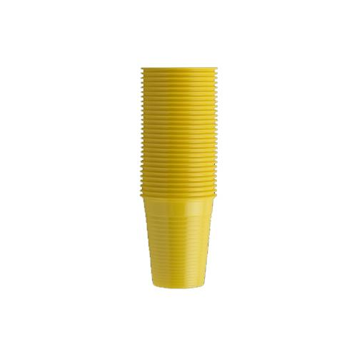 Monoart Plastic Cups (Yellow)