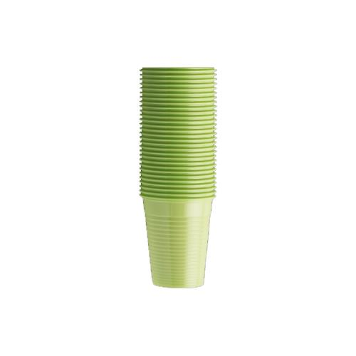 Monoart Plastic Cups (Lime)