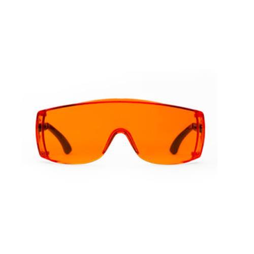 Monoart Light Orange Glasses (Orange Frame)