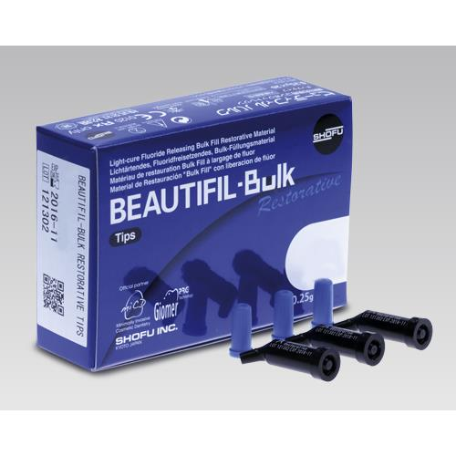 BEAUTIFIL Bulk Restorative (Tips, Shade A), Light Cured Composite Resin