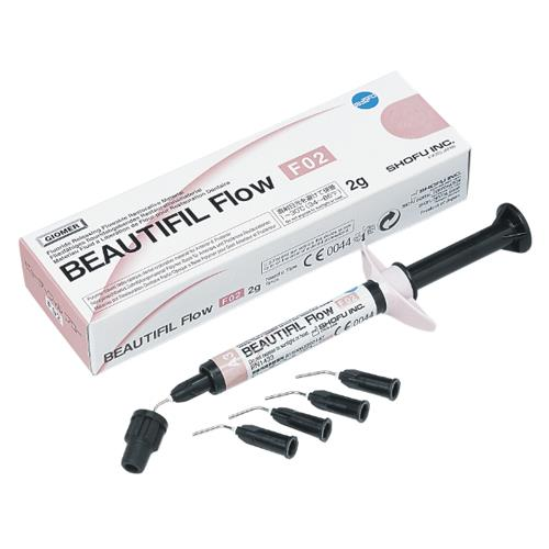 BEAUTIFIL Flow F02 (Shade A2), Flowable Hybrid Composite