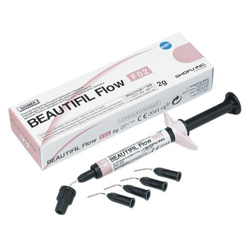 BEAUTIFIL Flow F02 (Shade A3), Flowable Hybrid Composite