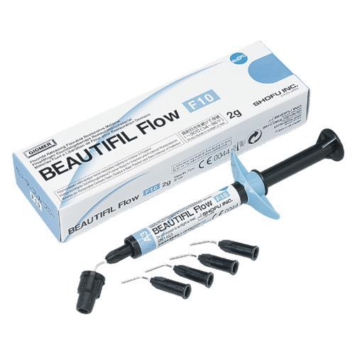 BEAUTIFIL Flow F10 (Shade A4), Flowable Hybrid Composite