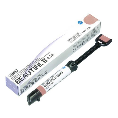 BEAUTIFIL II (Syringe, Bleach White Shade BW), Nano Hybrid Composite with Fluoride Release