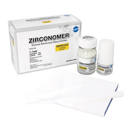 ZIRCONOMER IMPROVED Set (Enhanced Zirconia Reinforced Restorative)