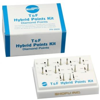 T  F Hybrid Points Kit (Trimming and Finishing Kit)