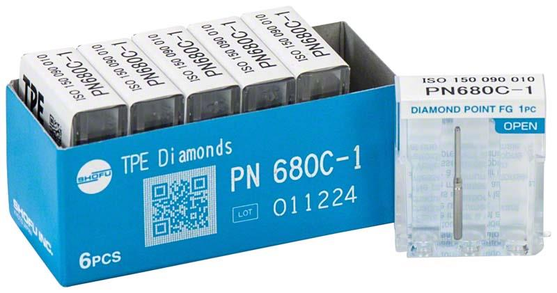 TPE Diamond Point PN 680C (Tissue Protective End Cutting Burs)