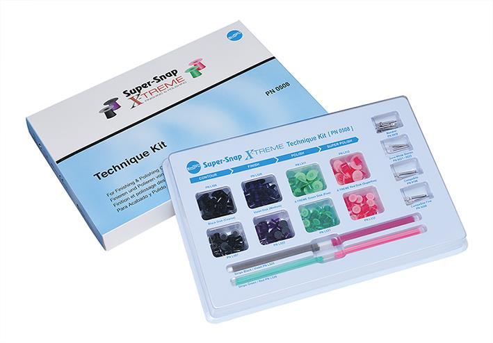 Super Snap X TREME Technique Kit (Finishing and Polishing Kit)