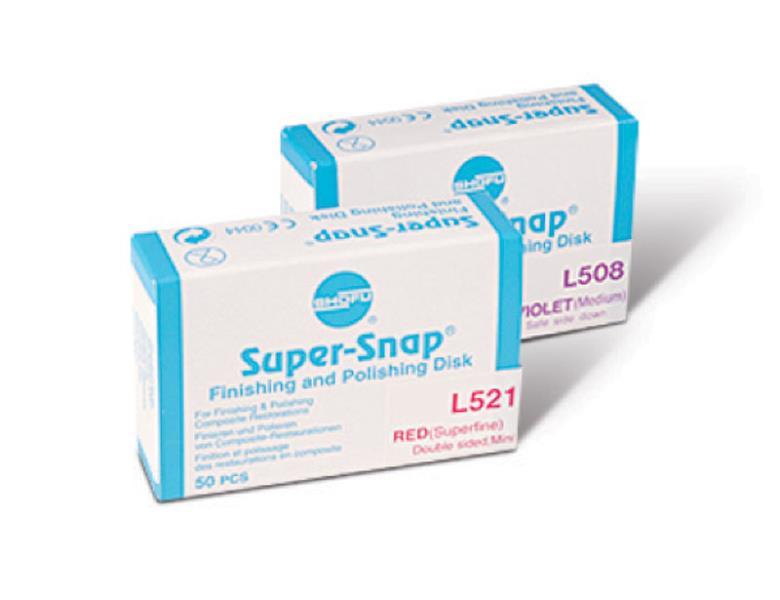 Super Snap Refill Standard Finishing Disks (Medium Grit)