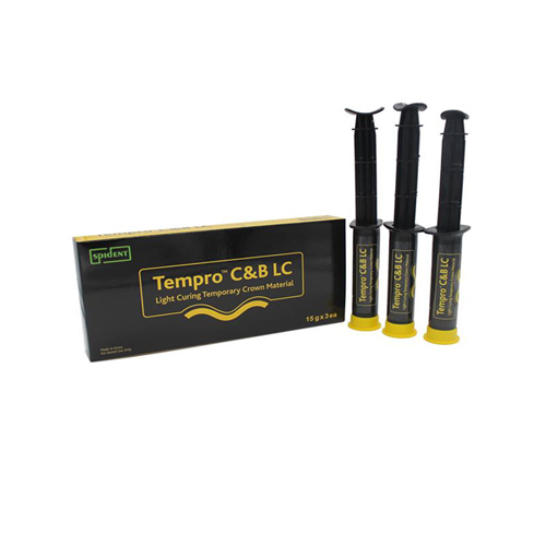 Tempro C and B LC A3 (Light Curing Temporary Crown Material)
