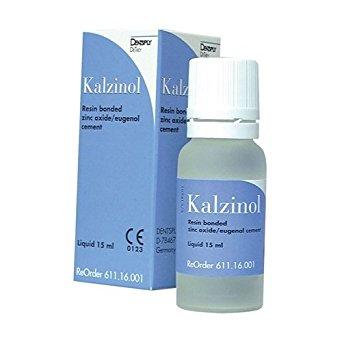 Kalzinol Liquid (Resin Bonded Zinc Oxide Eugenol Cement)