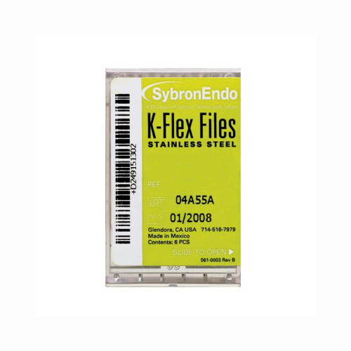SybronEndo K Flex Files Assorted 15 to 40 (21mm)