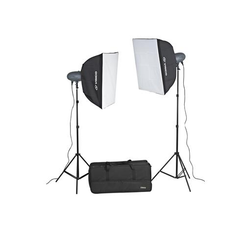 Studio Flash VL PLUS Softbox Kit (300W)