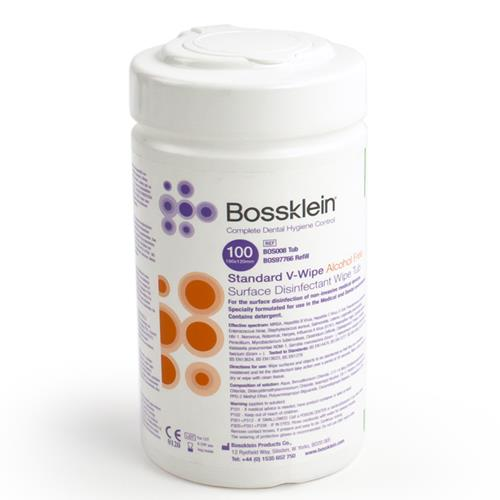 Bossklein Standard Alcohol Free V Wipes (Surface Disinfectant Wipes)