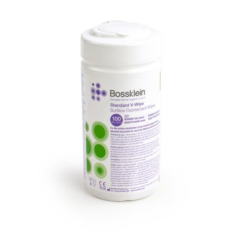 Bossklein Standard Alcohol V Wipes (Surface Disinfectant Wipes)