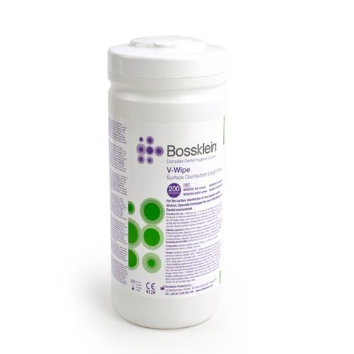 Bossklein Large Alcohol V Wipes (Surface Disinfectant Large Wipes)