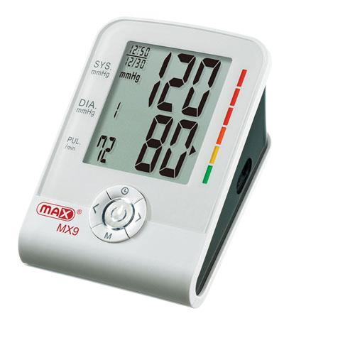 Max Automatic Inflate Blood Pressure and Pulse Monitor (Model MX9)