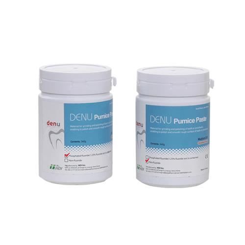 DENU Pumice Paste with Phosphated Fluoride (Grinding and Polishing Paste)
