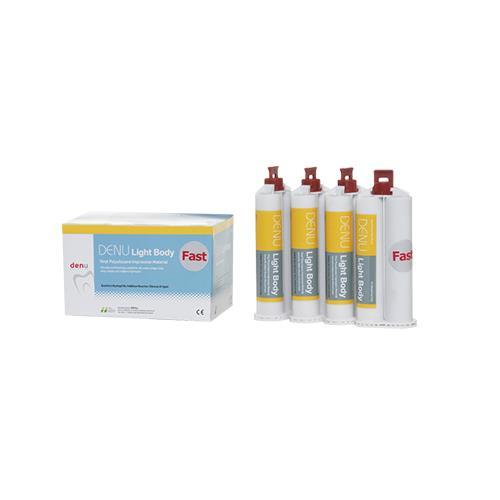 DENU Heavy Body Fast Set, Cartridge Type (Vinyl Polysiloxane Impression Material)