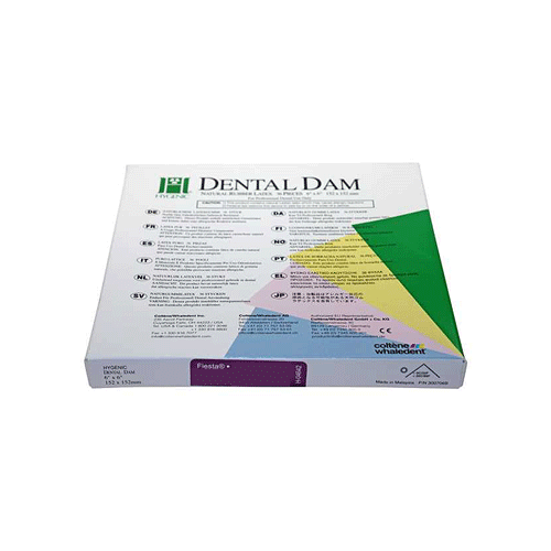 HYGENIC Fiesta Dental Dam standard size(Latex, Medium)