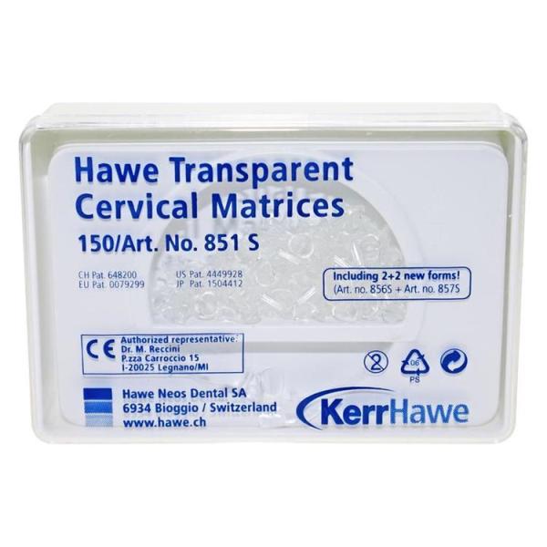 Hawe Transparent Cervical Matrices (Transparent Cervical Matrix for Class V),  Part No 851 S